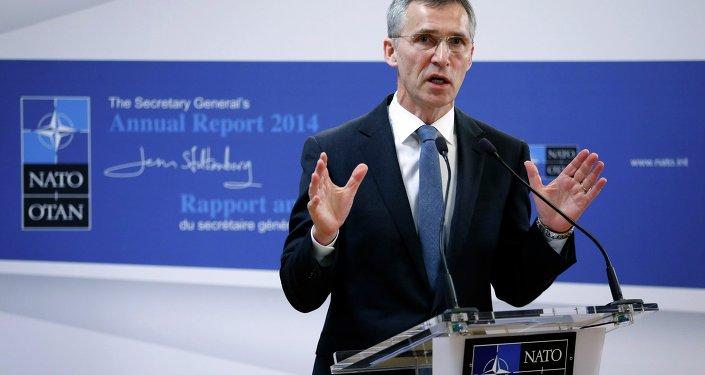 Jens Stoltenberg, secretaire général de l'OTAN