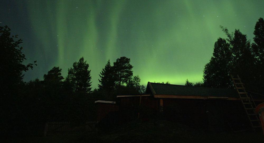 Aurora Borealis (Image d'illustration)