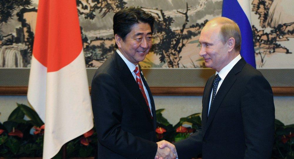 Poutine et Abe