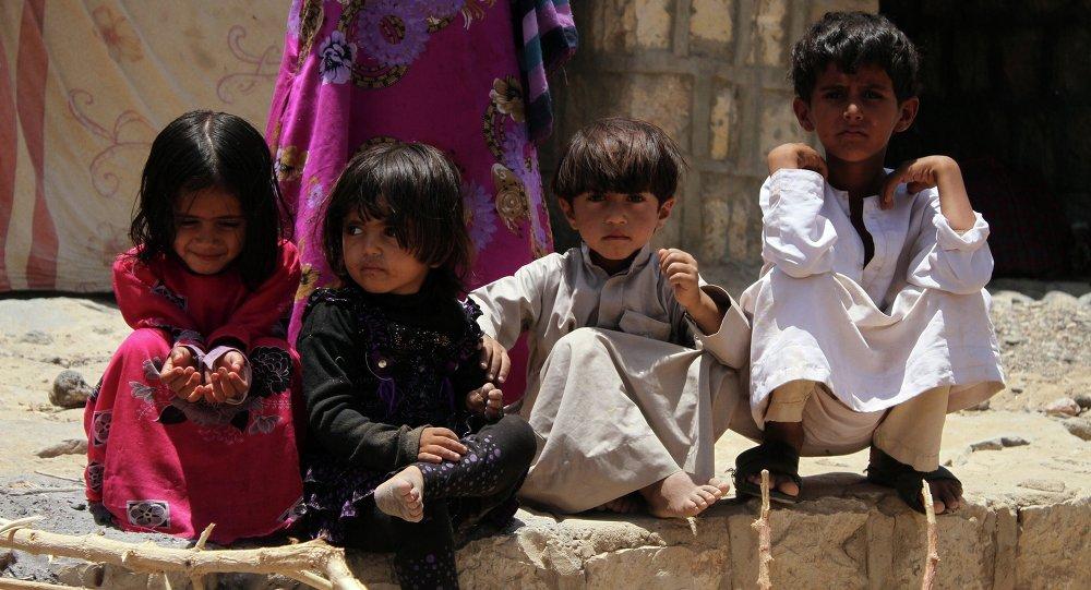Les enfants, Yémen.