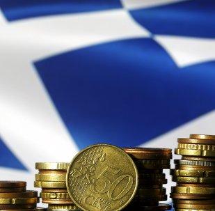un drapeau grec