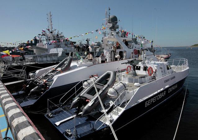 Ouverture du Salon de la marine de Saint-Pétersbourg