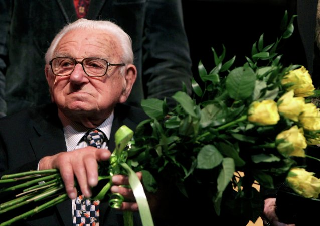 Nicholas Winton. Archive photo