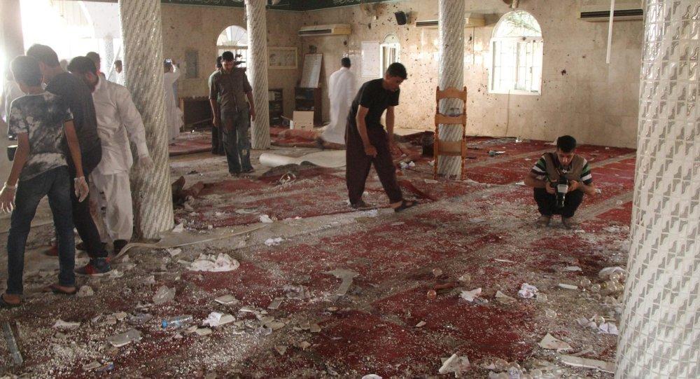 Explosion dans une mosquée