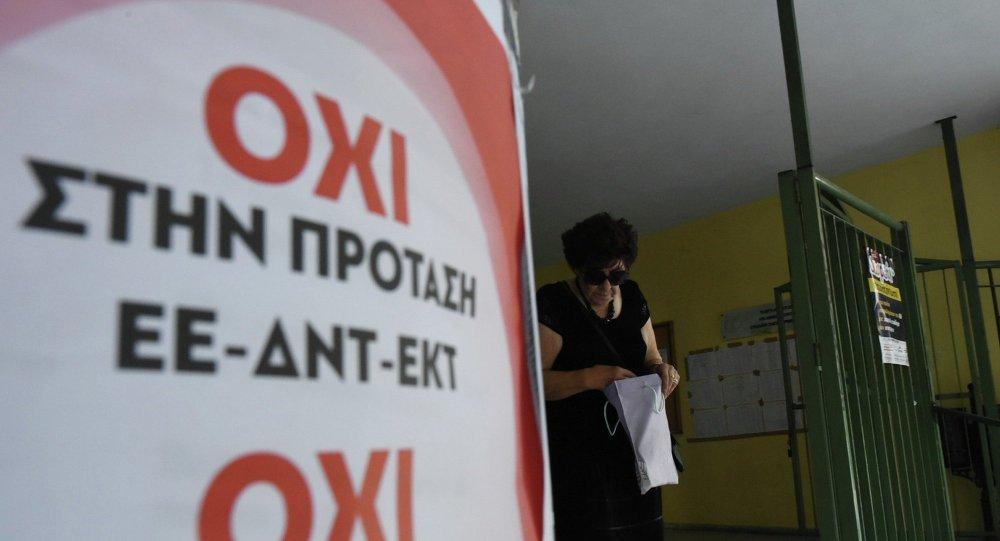 Sondage : la plupart des grecs vote « non »