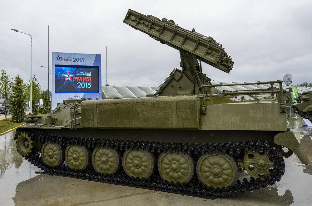 Un système antiaérien Strela-10M4