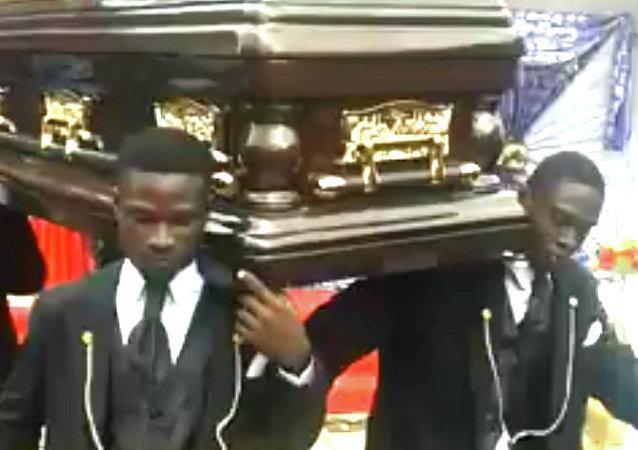 Les mœurs funéraires au Ghana
