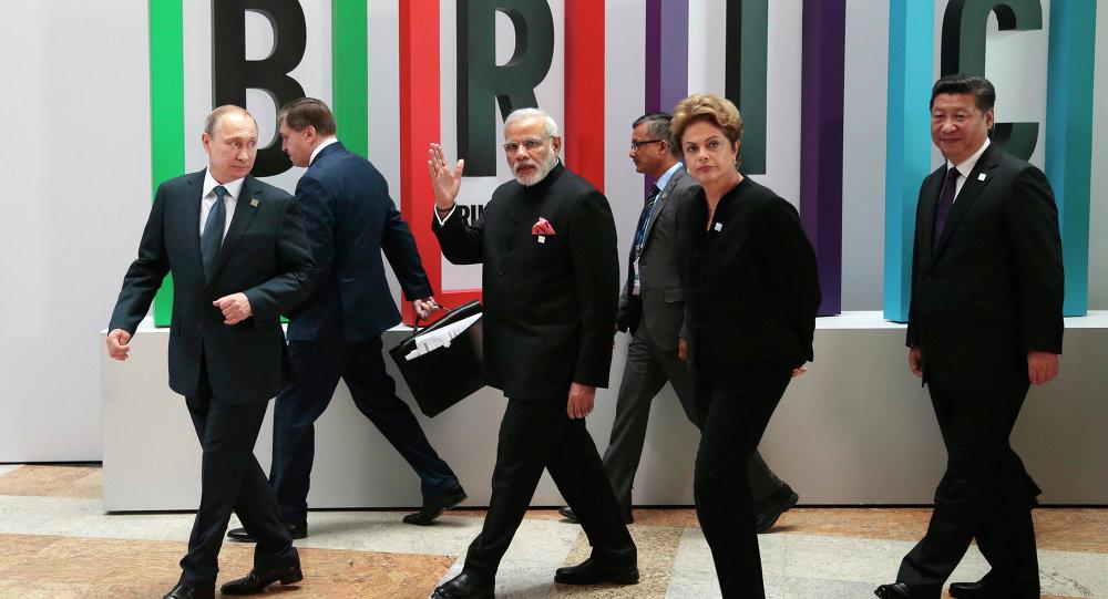 Les leaders des BRICS, Juillet 9, 2015