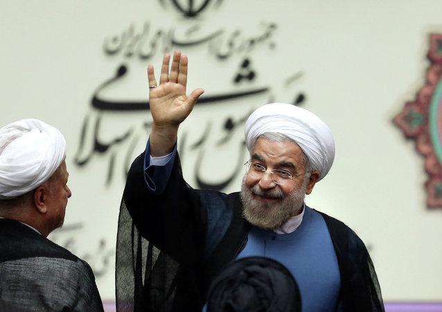 Le président iranien, Hassan Rohani