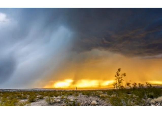 «Time lapse»: tempête au-dessus de Las Vegas