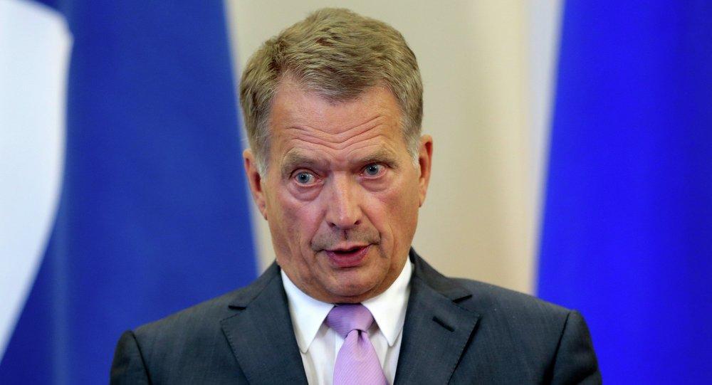 Le président finlandais Sauli Niinisto
