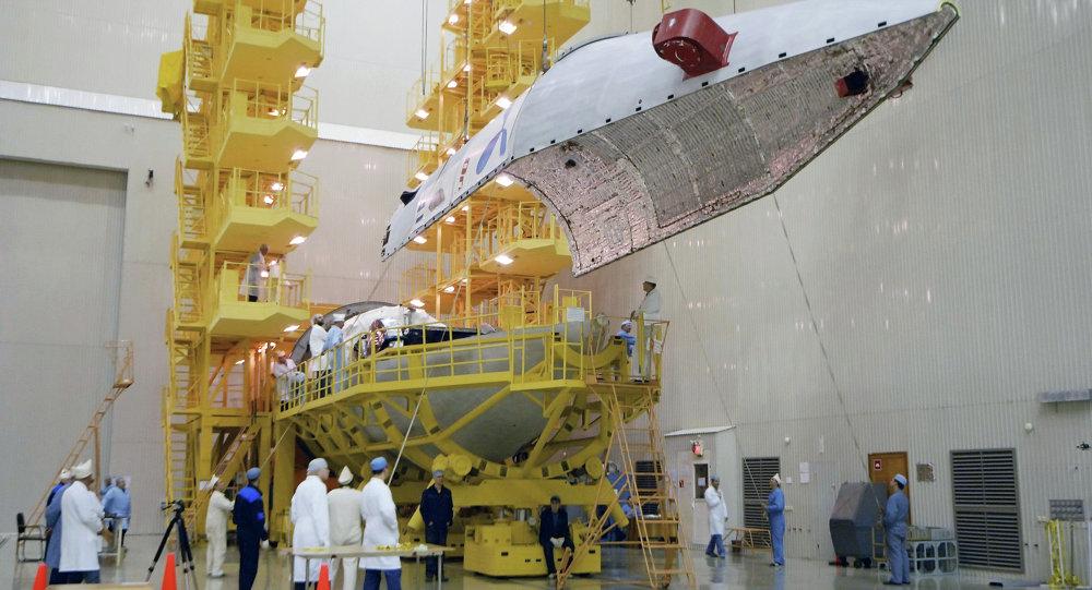 Lanceur Proton-M doté d'un booster Breeze-M