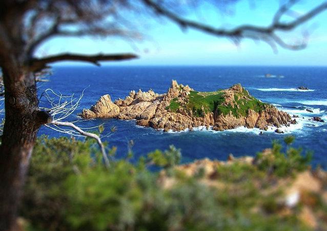 Une île inhabitée