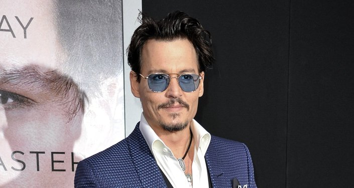Johnny Depp. Archive photo