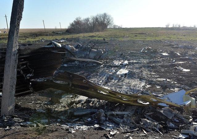 Site du crash du Boeing malaisien en Ukraine