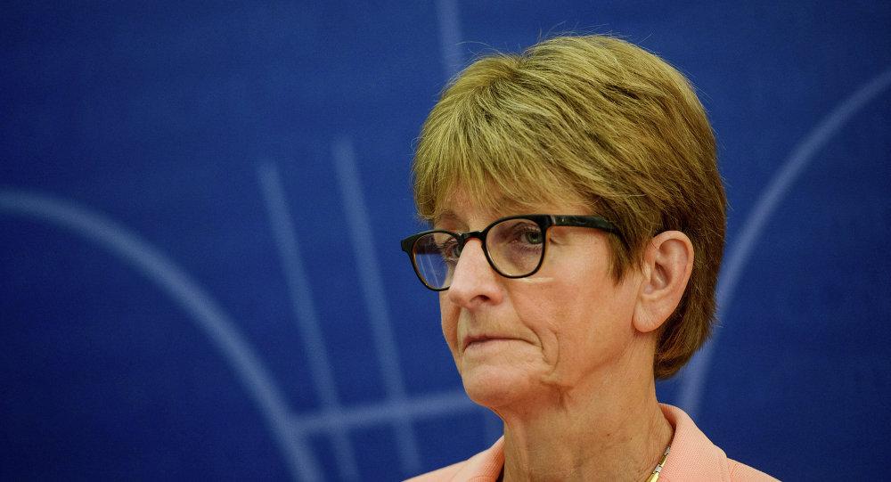 Anne Brasseur, présidente de l'Assemblée parlementaire du Conseil de l'Europe (APCE)