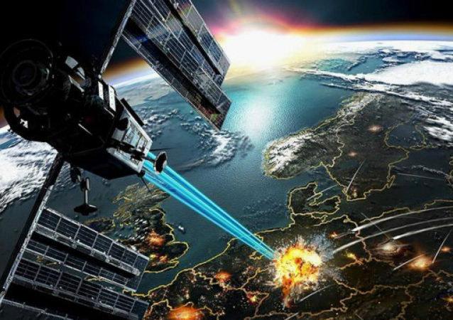 lancée dans l'espace