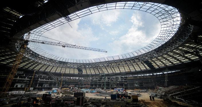 Le stade de Loujniki à Moscou