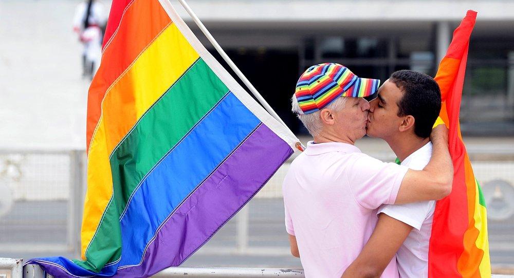 Relations homosexuelles. Image d'illustration