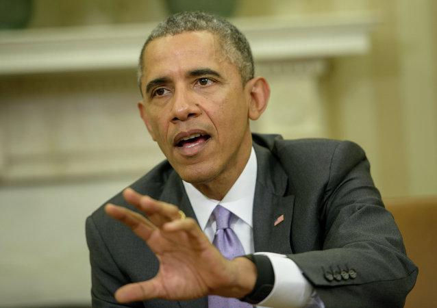 Le président américain Barack Obama