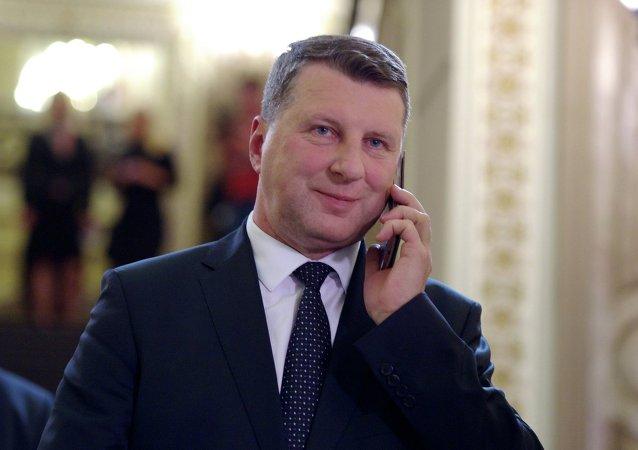 Président letton Raimonds Vējonis