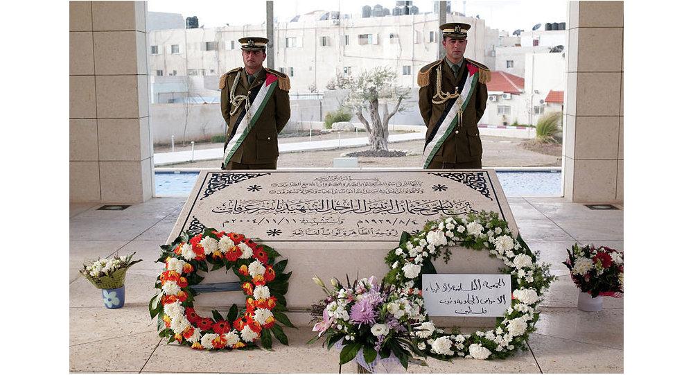 Tombeau de Yasser Arafat à Ramallah