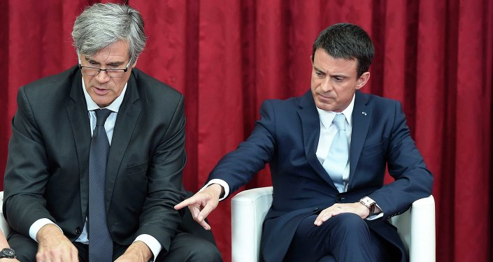Manuel Valls et Stephane Le Foll