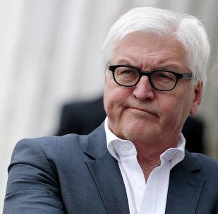 Frank-Walter Steinmeier, ministre allemand des Affaires étrangères