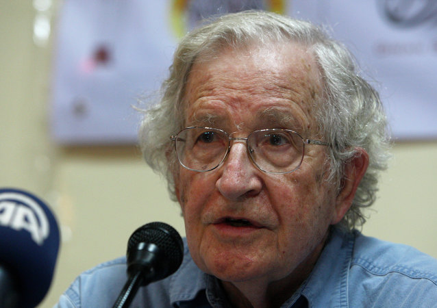 Noam Chomsky discusses Western hypocrisy in terrorism