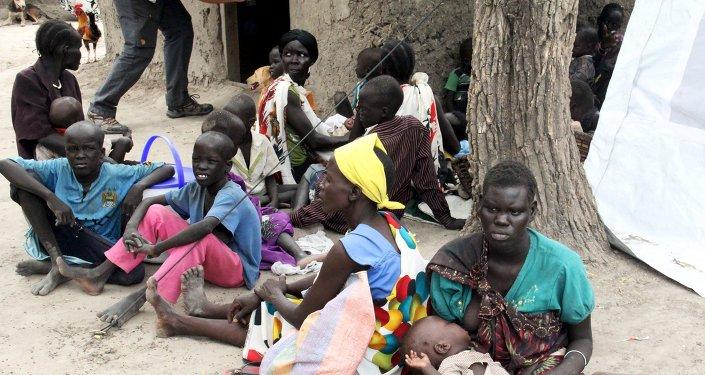 Résidents du Soudan