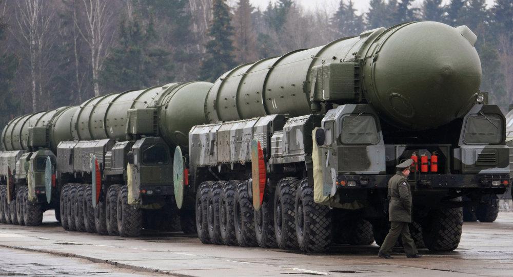 Missile intercontinental Topol-M