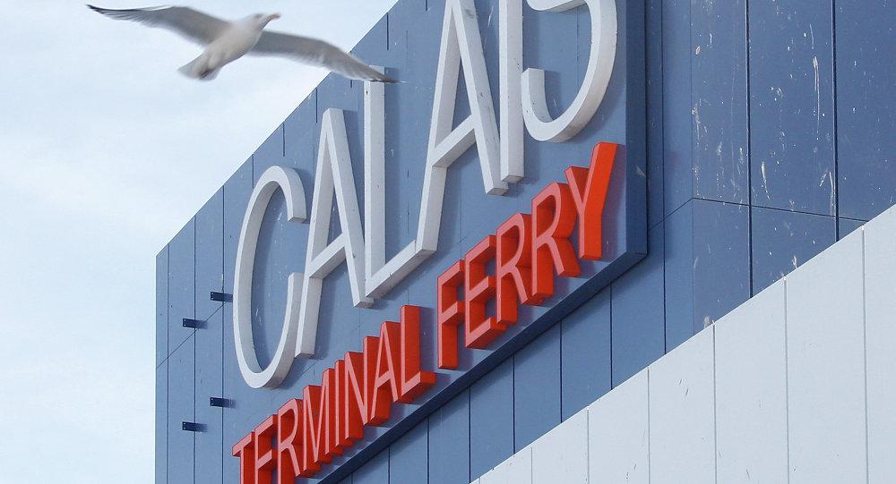 Le port ferry de Calais