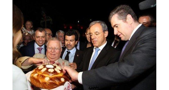 Visite de la délégation française en Crimée
