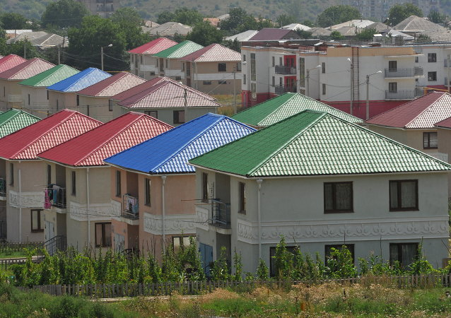 Tskhinvali, capitale de l'Ossétie du Sud
