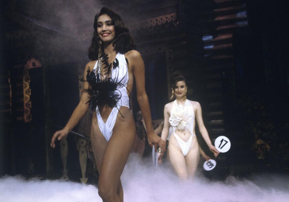 Participantes au concours Perle de Russie 1991