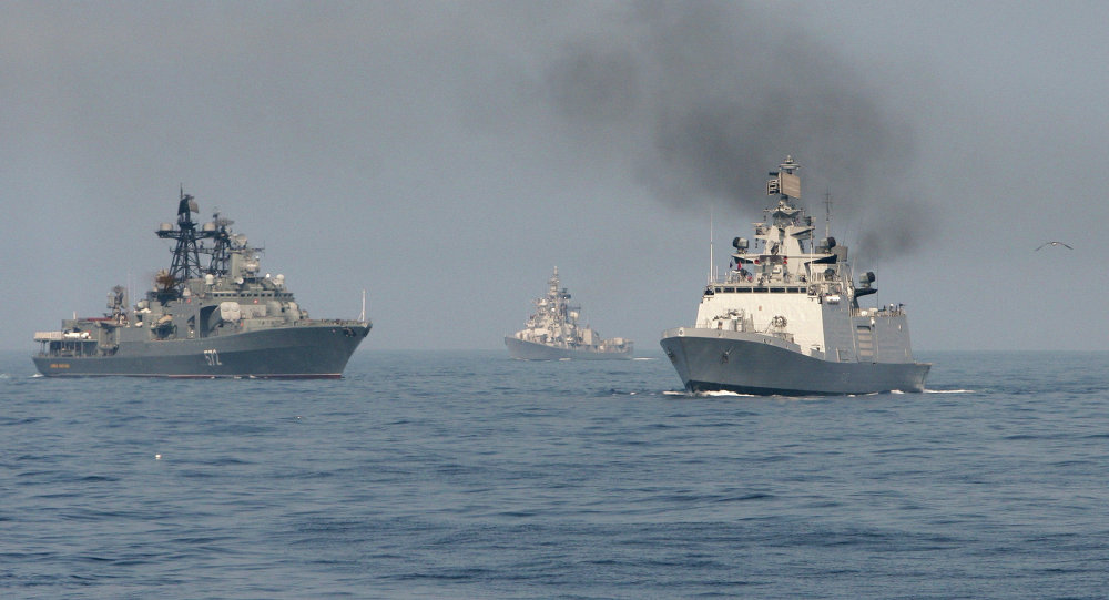 Exercice naval russo-indien Indra 2014