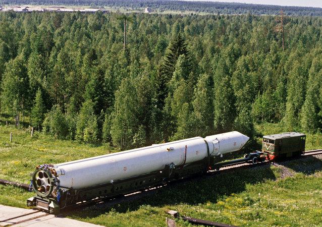 Un lanceur Tsyklon (Cyclone)