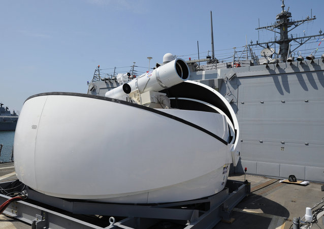 Un Laser Weapon System (LaWS)
