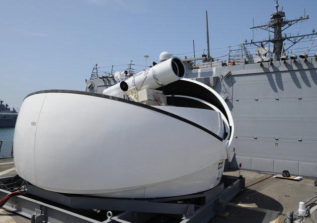 Un système laser de combat (image d'illustration)