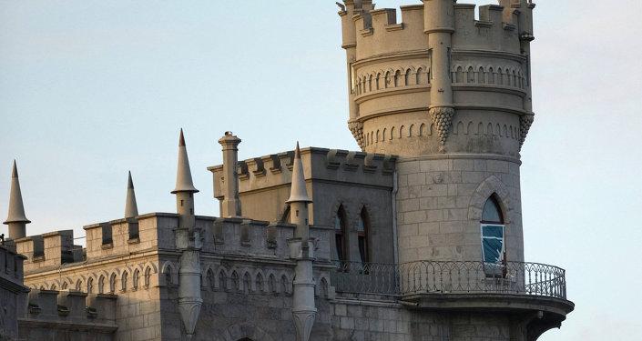 Le Château Nid d'hirondelle à Yalta