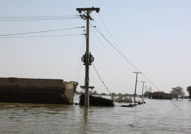 Inondations au Pakistan (archives)