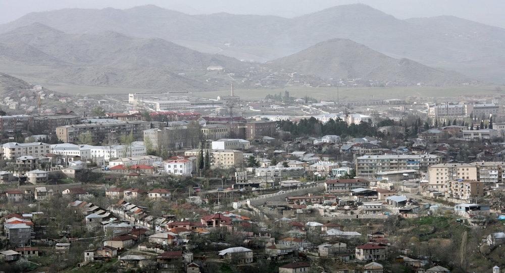 Stepanakert, la capitale de la république autoproclamée du Haut-Karabakh