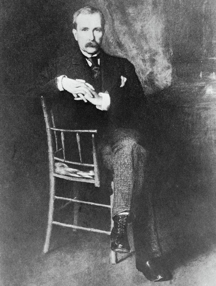 John D.Rockefeller, fondateur de la compagnie américaine Standard Oil