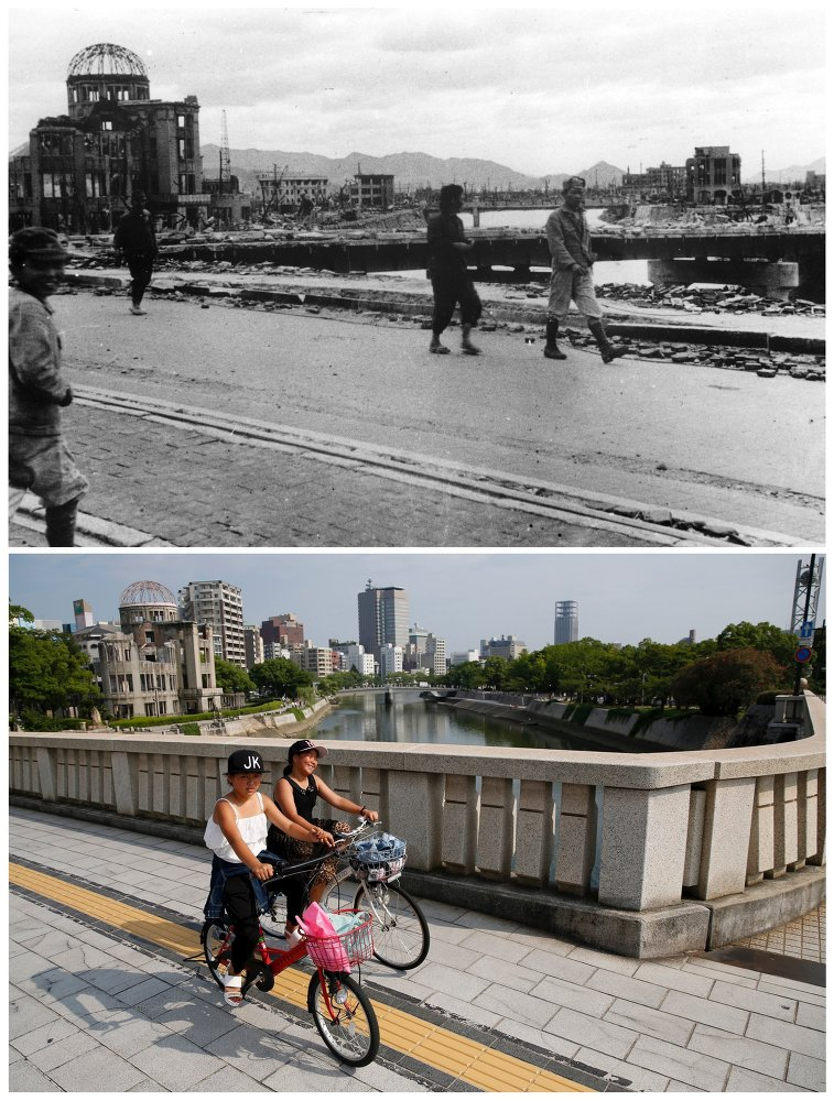 Le Japon, 70 ans après Hiroshima et Nagasaki