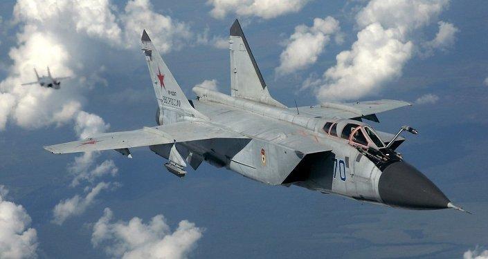 Un MiG-31, chasseur de quatrième génération (code Otan: Foxhound)