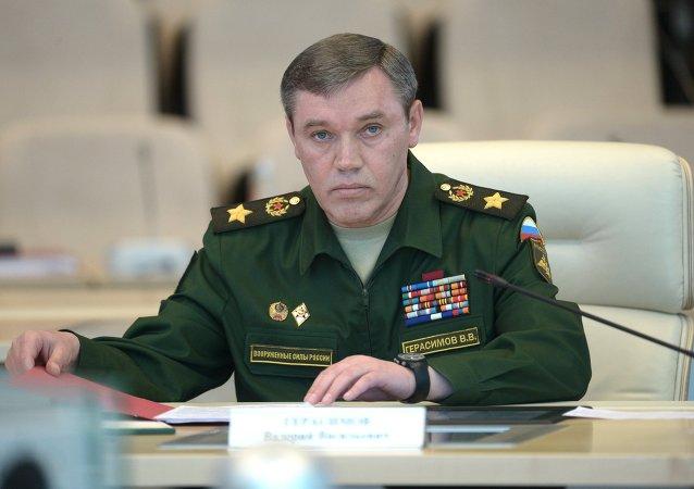 Le chef de l'état-major général de l'armée russe, Valeri Guerassimov