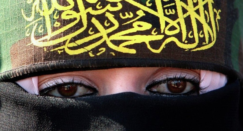 Une partisane de l'Etat islamique