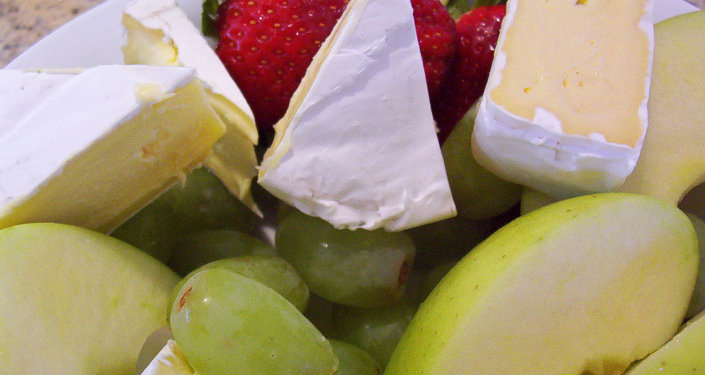 Fruits et fromage