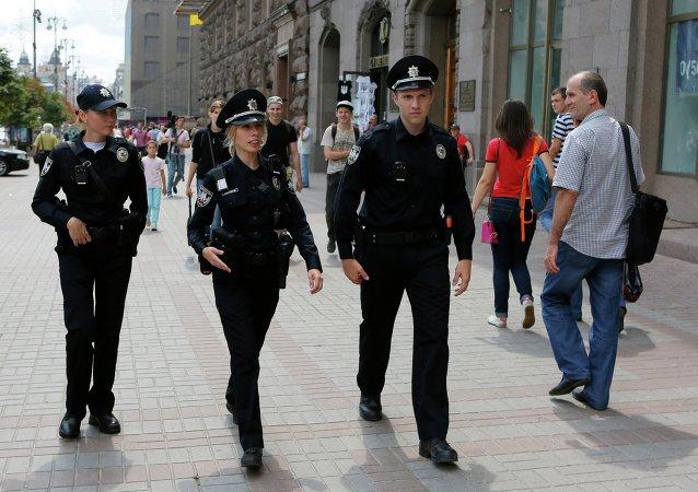La nouvelle police ukrainienne