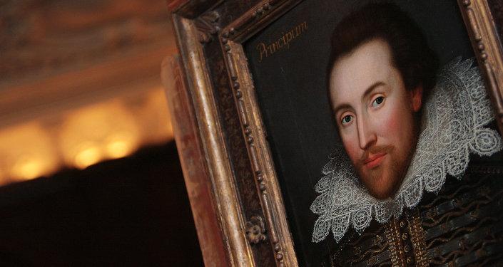 Portrait de William Shakespeare. Image d'illustration
